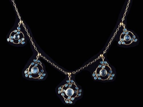 Created by Jesse Marion King (1875-1949) necklace commissioned by Liberty & Co, 1900-1920s