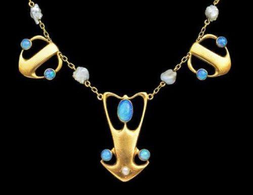 Gorgeous necklace, 1900-1904