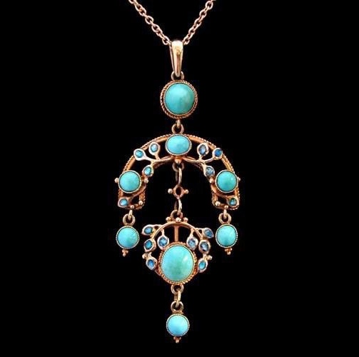 Jesse Marion King (1875-1949) necklace commissioned by Liberty & Co, 1900-1920s