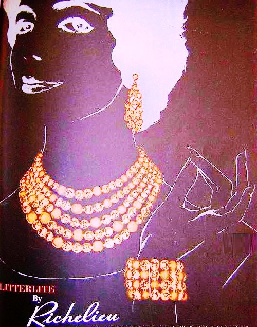 Richelieu jewellery poster of 1958