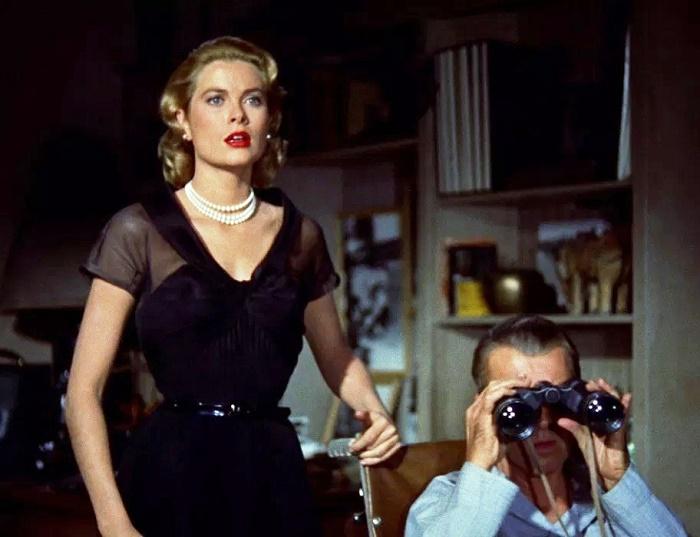 Scene from 'Rear Window'. 1954