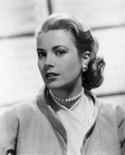 Stunningly beautiful Grace Kelly in Psycho (promo photo)