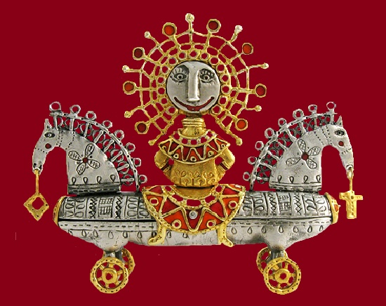 Sunny chariot. Ilya Palkin jewelry design studio