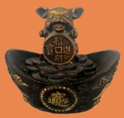 Yellow Earth Pig jewellery decorations