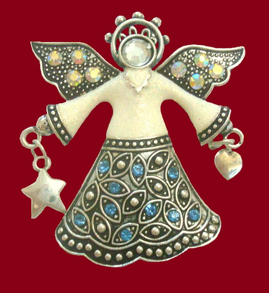 cd376578feea7 Kenneth Cole KC vintage costume jewelry - Kaleidoscope effect