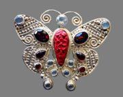 Unique handmade Sajen costume jewelry