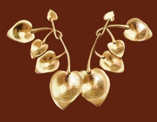 Esmee metal earrings