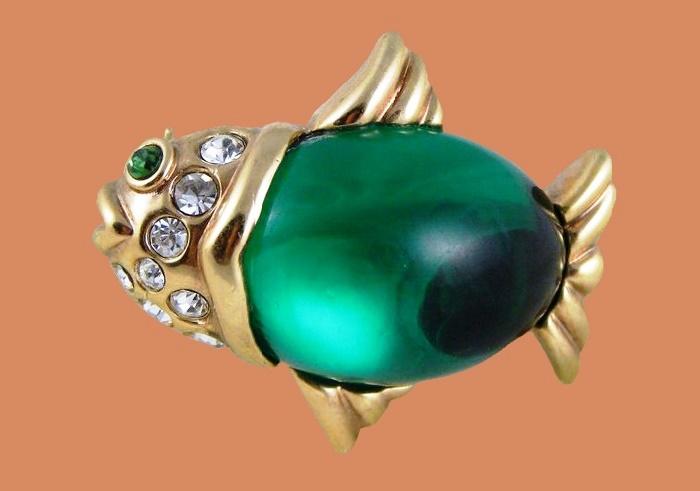 Fabulous fish brooch