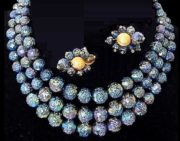 Signed PAM vintage costume jewelry