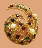St John SJ costume jewelry