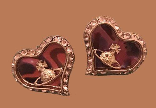 British jewelry designer Vivienne Westwood