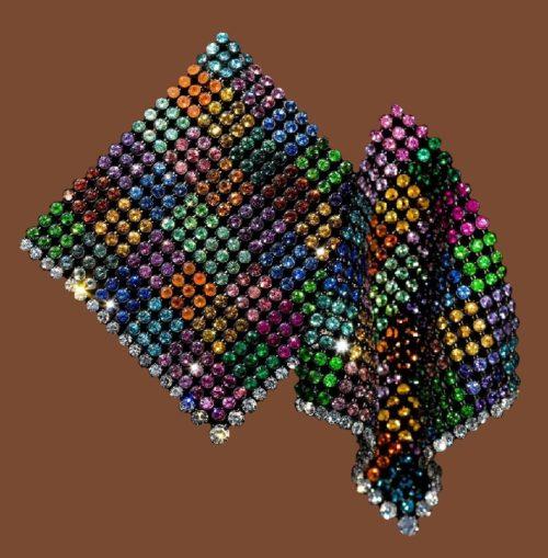 Multicolored Handkerchief Earrings 2011