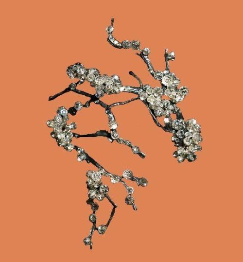 Sakura in bloom. Each JAR piece is three-dimensional