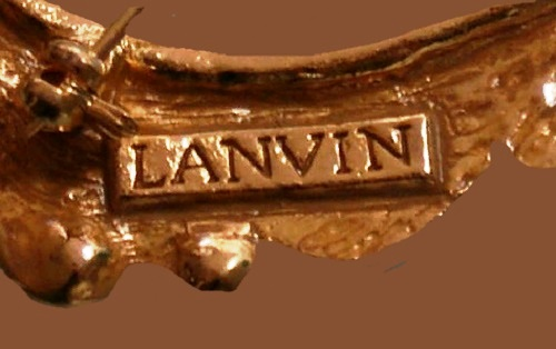 Signed Lanvin