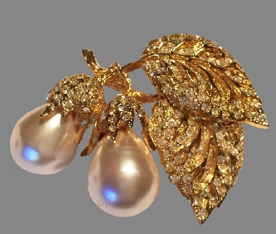 Erwin Pearl vintage costume jewelry