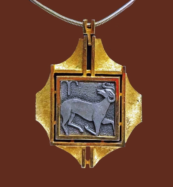 Aries Zodiac Pendant