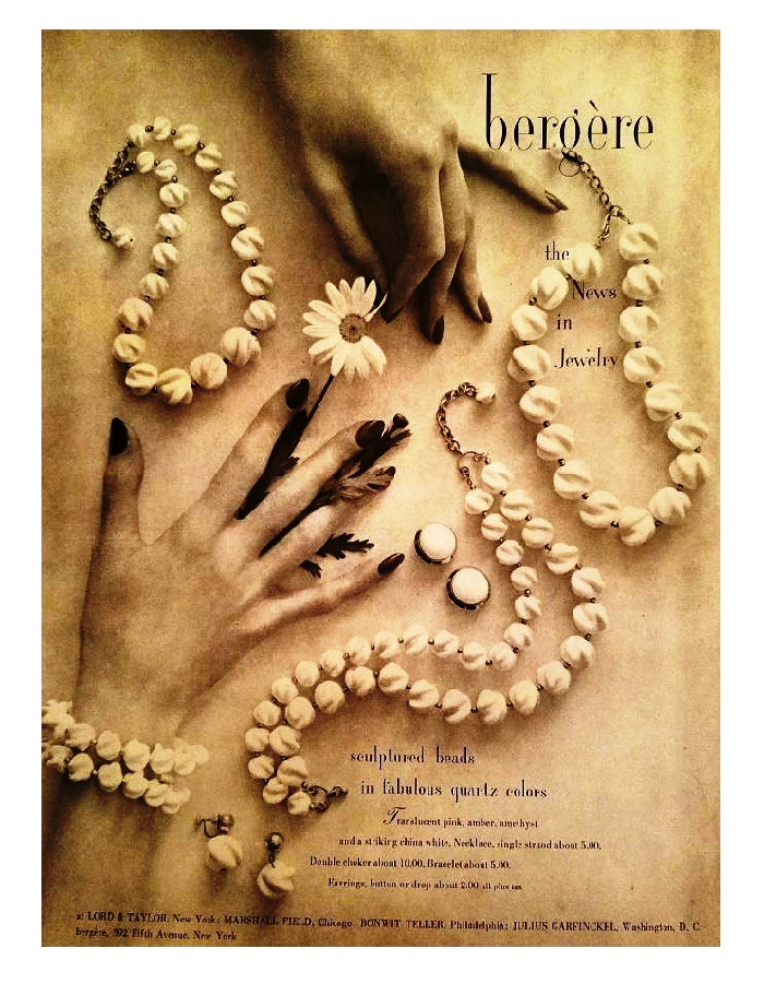 Bead necklace 1951 poster