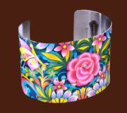 Blue Rose Catalina Estrada Cuff Bracelet