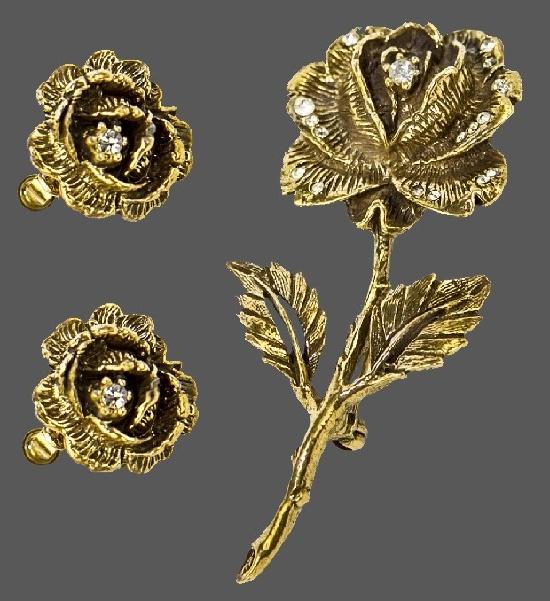 Goldette vintage costume jewelry