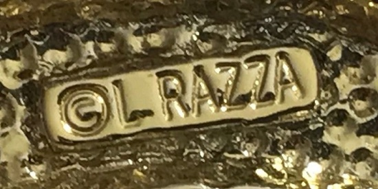 Signed L Razza with copyright sign