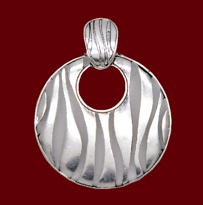 Beautiful silver pendant