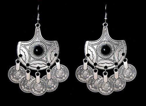 Fabulous coin earrings