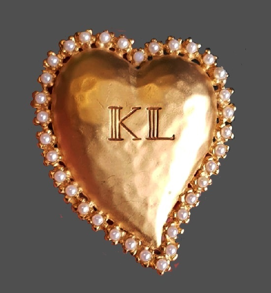Karl Lagerfeld vintage costume jewelry