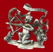 Sagittarius sterling silver zodiac sign brooch