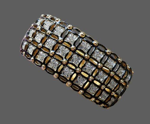 Vintage bracelet of 1980s, marked