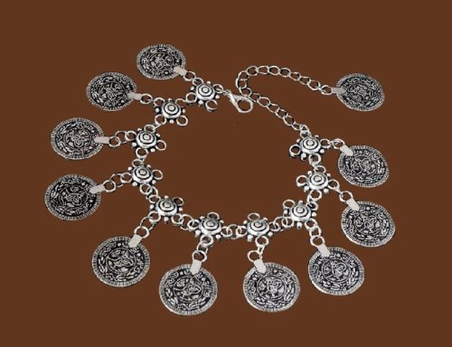 Traditional coin necklace
