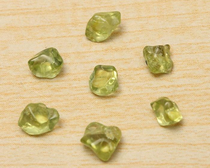 Stones of olivine