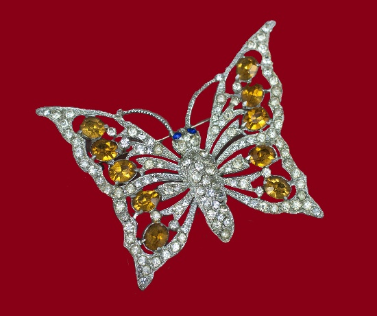 Schrager vintage costume jewelry