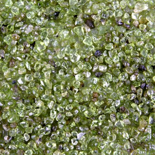 Shades and hues of olivine