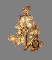 Eggert vintage botanical jewelry - Flora Danica