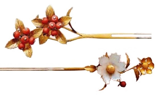 Kanzasi flowers subtly convey the charm of nature