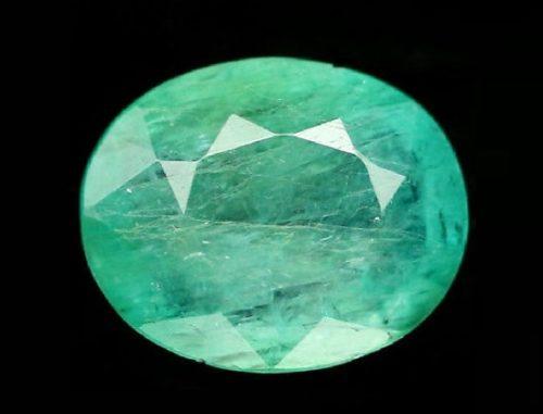 Natural green Grandidierite