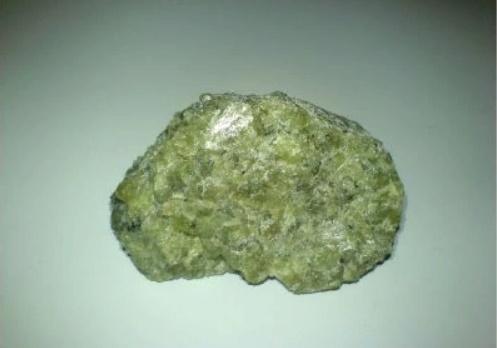 Natural mineral – olivine