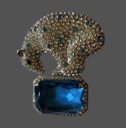 Italian designer Carlo Zini costume jewelry