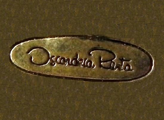 Signed Oscar dela Renata