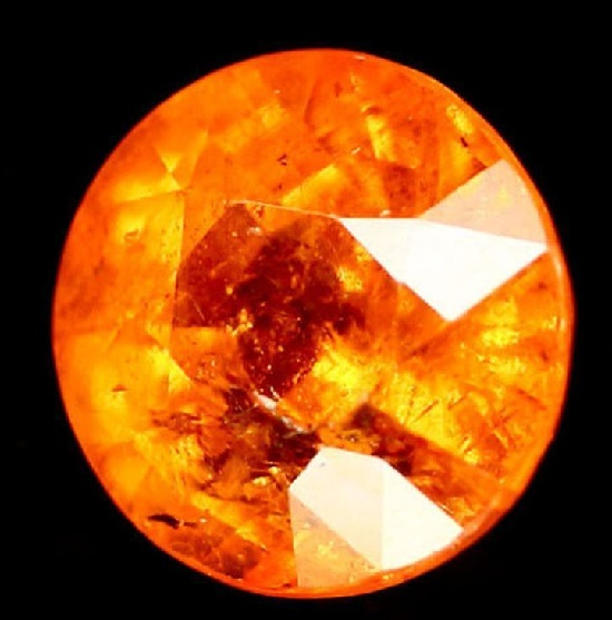 Spessartine (garnet) of orange color