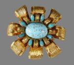 Leo Glass vintage costume jewelry