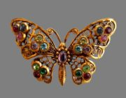West Germany vintage costume jewelry