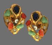 Claire Deve vintage costume jewelry