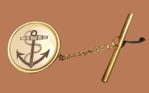 Anchor tie pin