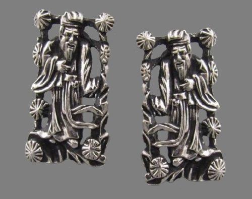 Jewelry for men - Swank artful cufflinks