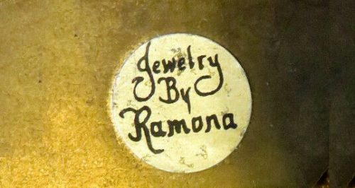 Jewelry by Ramona sign