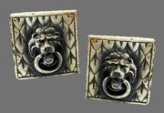 Jewelry for men - Swank artful cufflinks