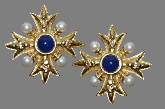 Alfred Sung vintage costume jewelry
