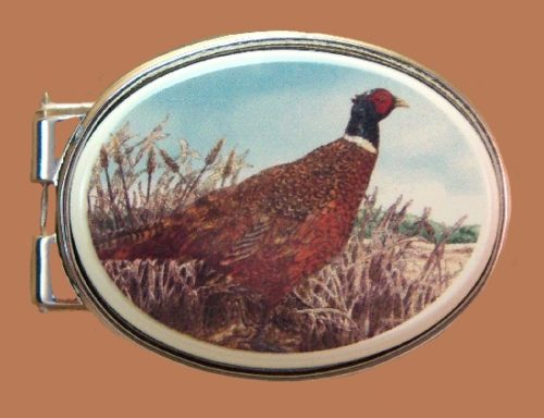 Pheasant Bird money clip