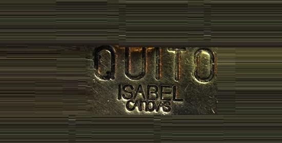 Quito Isabel Canovas signature (clown series)
